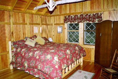 Master Bedroom Adirondack Lake Placid New York